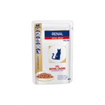 Royal Canin RENAL С ГОВЯДИНОЙ (ПАУЧ), 85 г